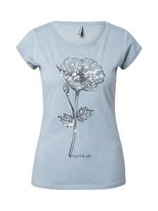 Sublevel T-Shirt blue denim
