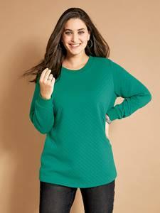 Sweatshirt grün MIAMODA