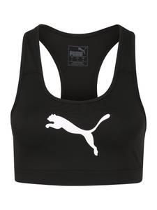PUMA Sport BH schwarz / weiß