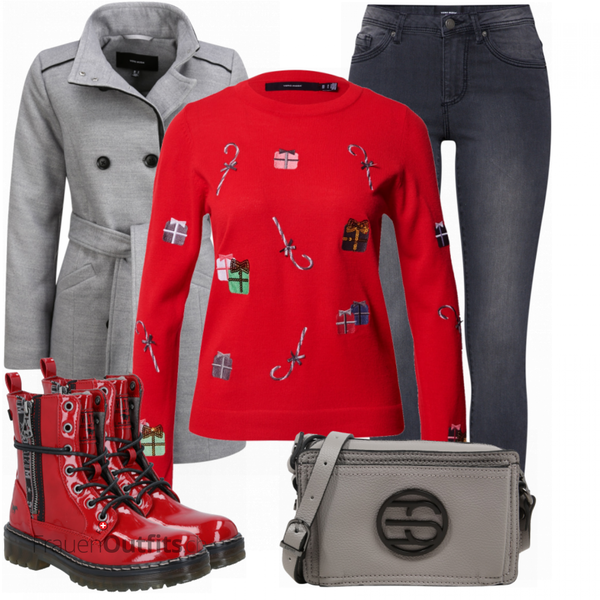 Weihnachtsoutfit FrauenOutfits.ch