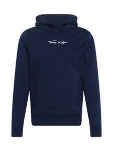 TOMMY HILFIGER Sweatshirt nachtblau / weiß