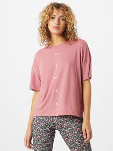 NIKE Sportshirt rosa / weiß