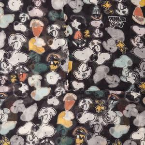 CODELLO Tuch ''Peanuts'' mischfarben / schwarz