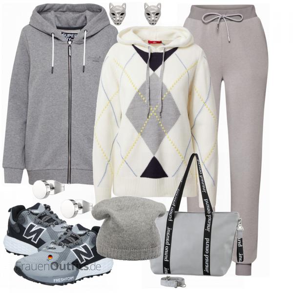 Bequemes Outfit für den Sport FrauenOutfits.de