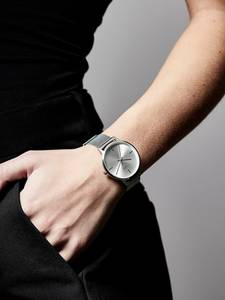 Pilgrim Uhr silber