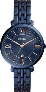 FOSSIL Quarzuhr 'JACQUELINE' blau