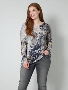 Shirt beige/grau Sara Lindholm