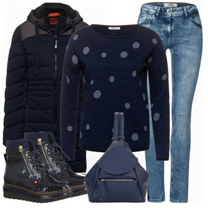 Modisches Winter Outfit FrauenOutfits.ch