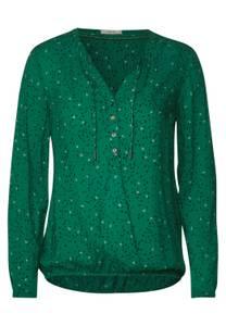 CECIL Damen Bluse mit Minimal Print in Grün