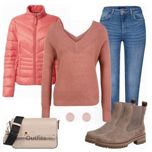 Winterliches Outfit für die Freizeit FrauenOutfits.de