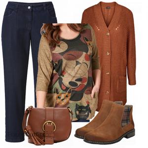 Plus Size Outfit für den Winter FrauenOutfits.de