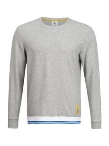 Calvin Klein Underwear Schlafshirt graumeliert / weiß / blau / gelb