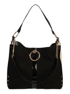 River Island Handtasche schwarz / naturweiß