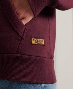 Superdry Sweatshirt burgunder / rosegold