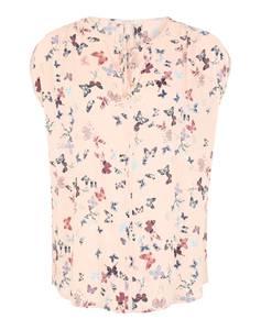 Bluse mit Schmetterlings-Design