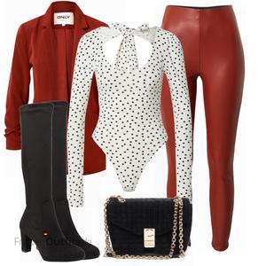 Elegantes Winter Outfit FrauenOutfits.de