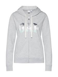 GAP Sweatshirt GRAD FZ HD graumeliert