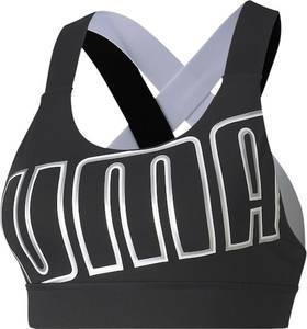 PUMA Sport-BH ''Feel It Bra M'' silber / grau / schwarz