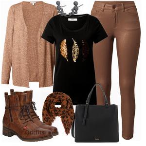 Herbstliches Freizeit Outfit FrauenOutfits.ch