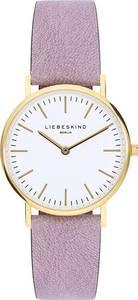 Liebeskind Berlin Uhr gold / helllila / weiß