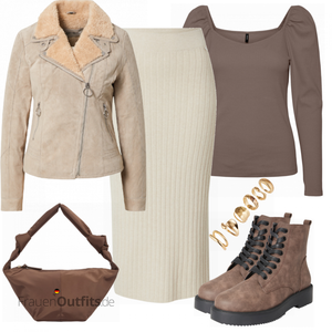 Cooles Herbst Outfit FrauenOutfits.de