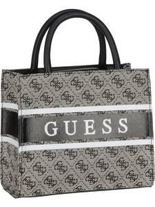 GUESS Handtasche ''Monique'' dunkelgrau / dunkelbraun