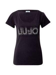 LIU JO JEANS Shirt ''MODA'' schwarz / weiß