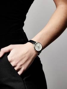 Pilgrim Uhr ''Nerine'' schwarz / silber
