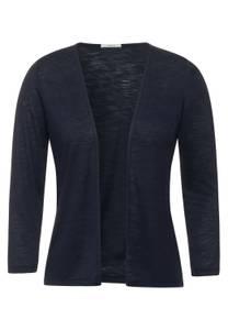 CECIL Damen Offene Shirtjacke in Blau