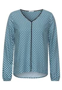CECIL Damen Bluse mit Muster in Grün