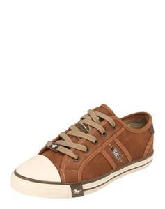 MUSTANG Sneaker Low ocker / braun