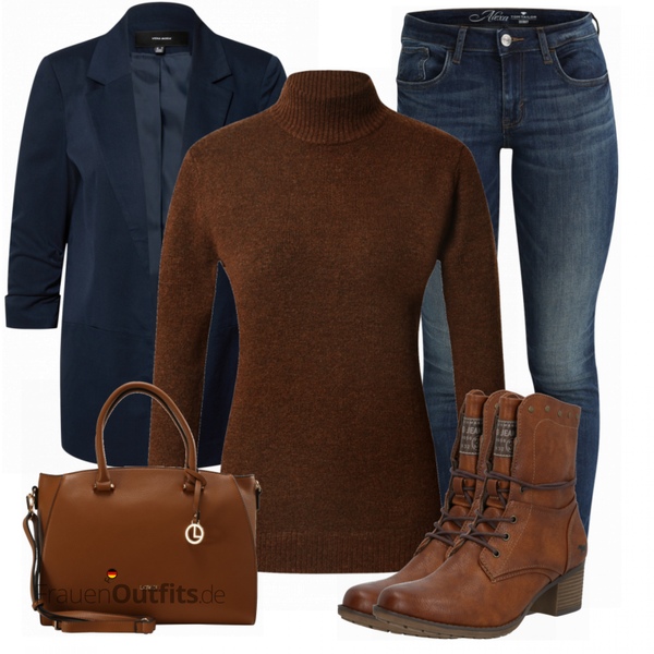 Trendiges Herbst Outfit FrauenOutfits.de