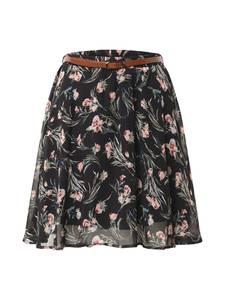 ABOUT YOU Rock ''Ava Skirt'' mischfarben / schwarz / rot / hellblau / khaki