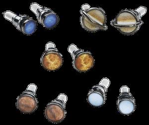 Blackheart Solar System Ohrstecker-Set