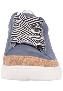 ARA Sneaker taubenblau / braun