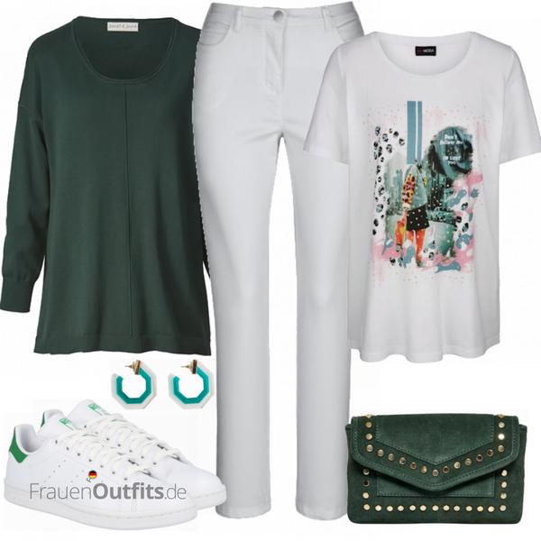 Stylische  Grosse Größen Outfits FrauenOutfits.de