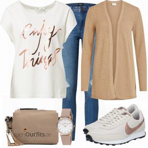 Cooles Freizeit Outfit FrauenOutfits.de