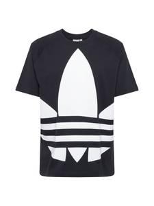 ADIDAS ORIGINALS Shirt ''BG Trefoil Tee'' weiß / schwarz