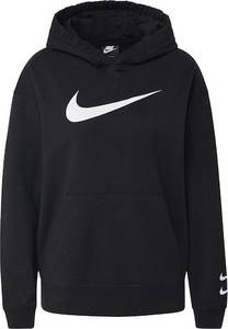Nike Sportswear Sweatshirt weiß / schwarz
