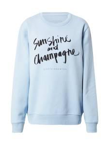 EINSTEIN & NEWTON Sweatshirt ''Sunshine'' hellblau / schwarz