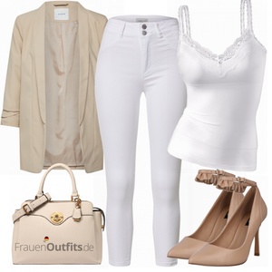 Elegantes Sommer Outfit FrauenOutfits.de