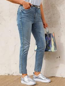 Jeans blue bleached MIAMODA