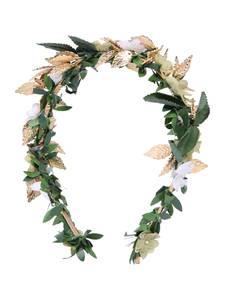 We Are Flowergirls Haarreif Bridal/Bridesmaid Style grün / hellbeige