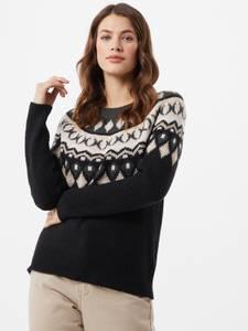 ONLY Pullover ''Amber'' dunkelgrau / grünmeliert / beige / blau