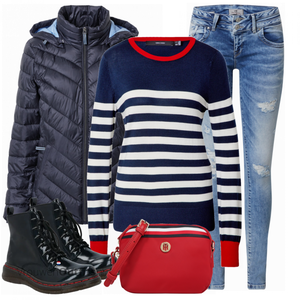 Modieuze winterlook VrouwenOutfits.nl