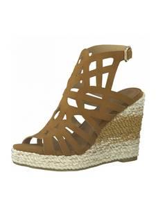 TAMARIS Sandale braun / beige