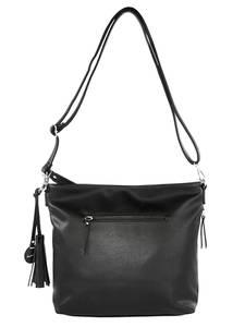 Shopper schwarz Taschenherz