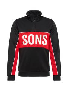 Only & Sons Sweatshirt rot / schwarz