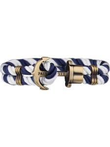 Paul Hewitt Armband navy / gold / weiß