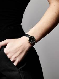 Pilgrim Uhr ''Nerine'' schwarz / gold